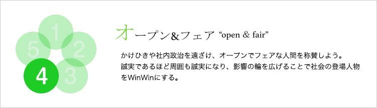 オープン&フェア
