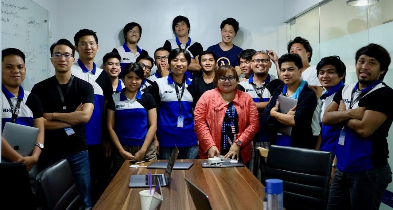 フィリピン支社にて開催されたビーボ初のテクノロジーカンファレンス「Bbo Global Tech Meeting」の様子